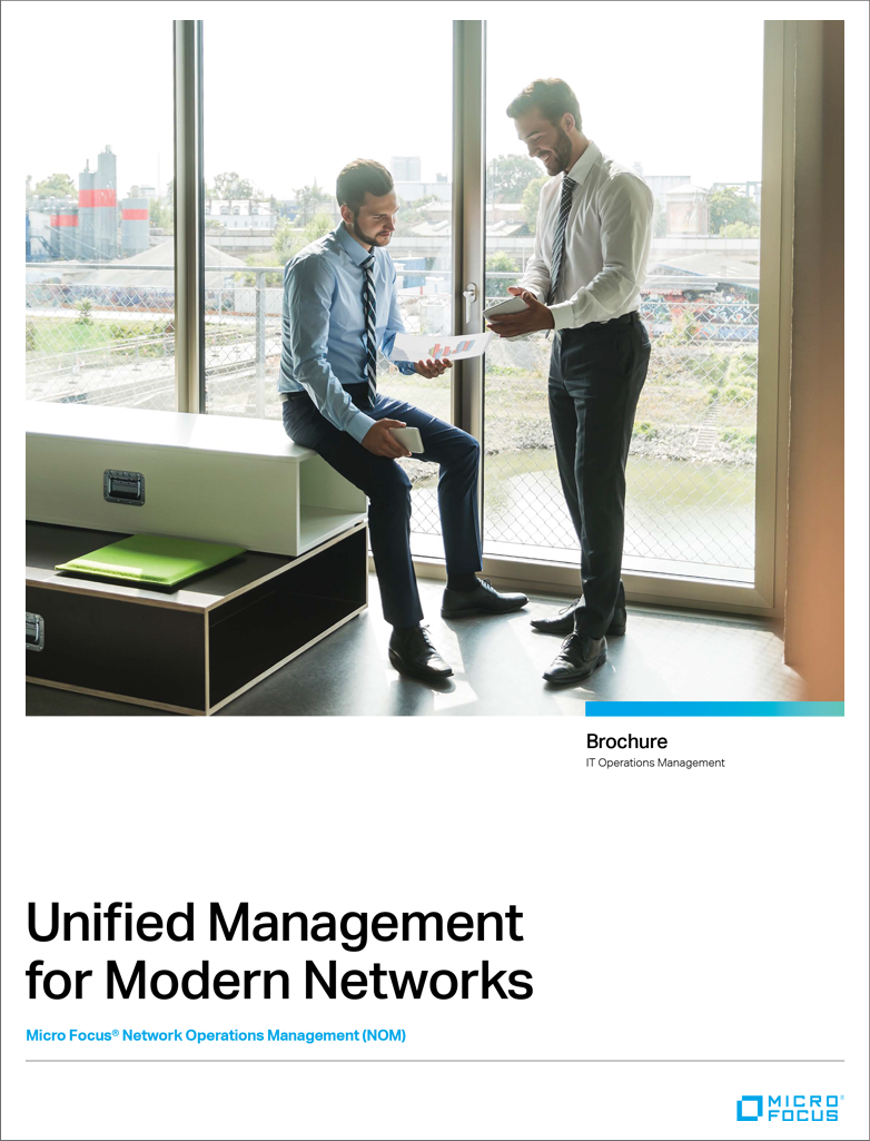 brochure unified management for modern networks