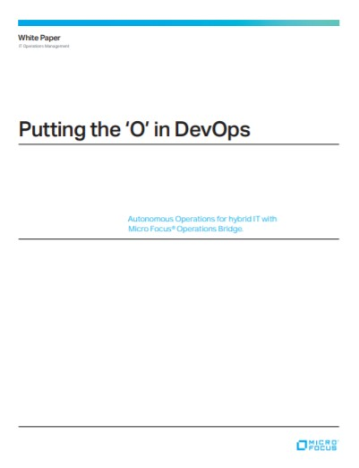 Putting the 'O' in DevOps preview