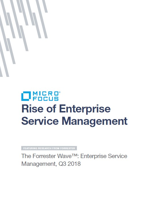 Rise of Enterprise Service Management Featuring Research from Forrester Wave preview