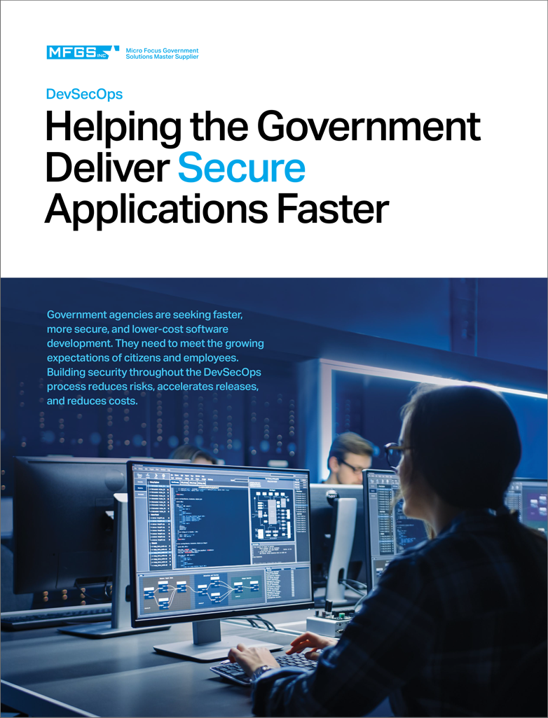 Helping the Government Deliver Secure Applications Faster preview