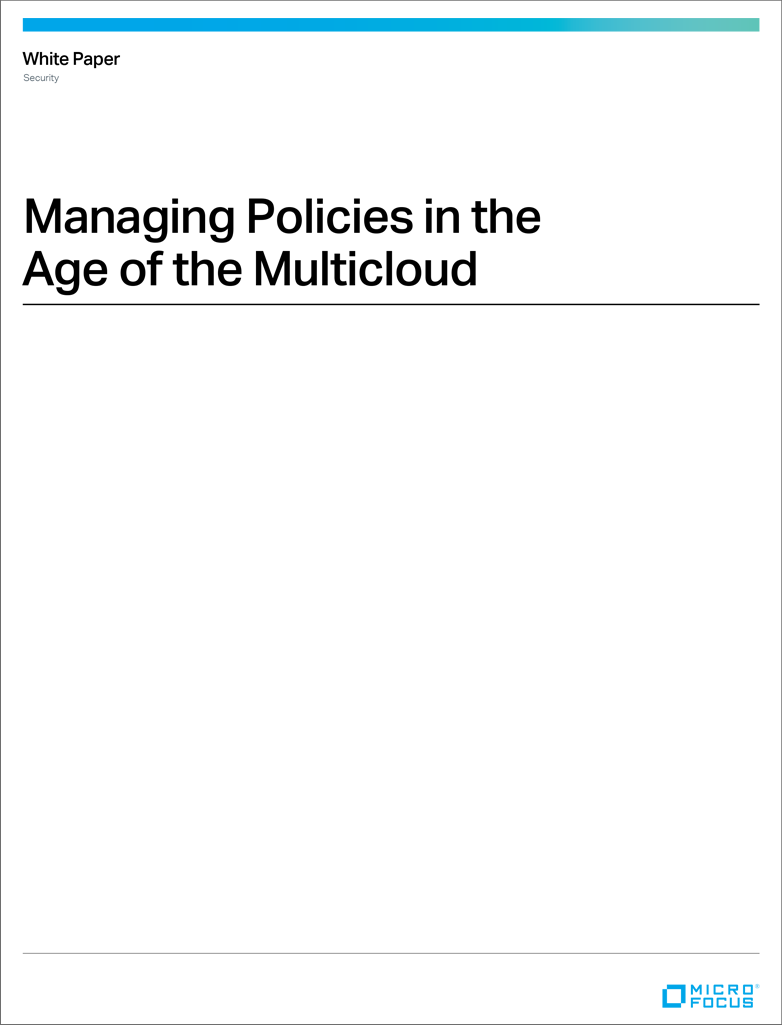 Managing Policies in the Age of the Multicloud