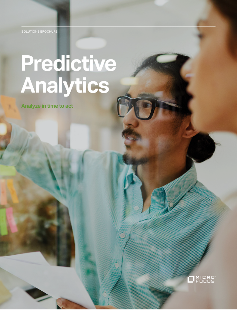 Predictive Analytics – Analyze in Time to Act preview