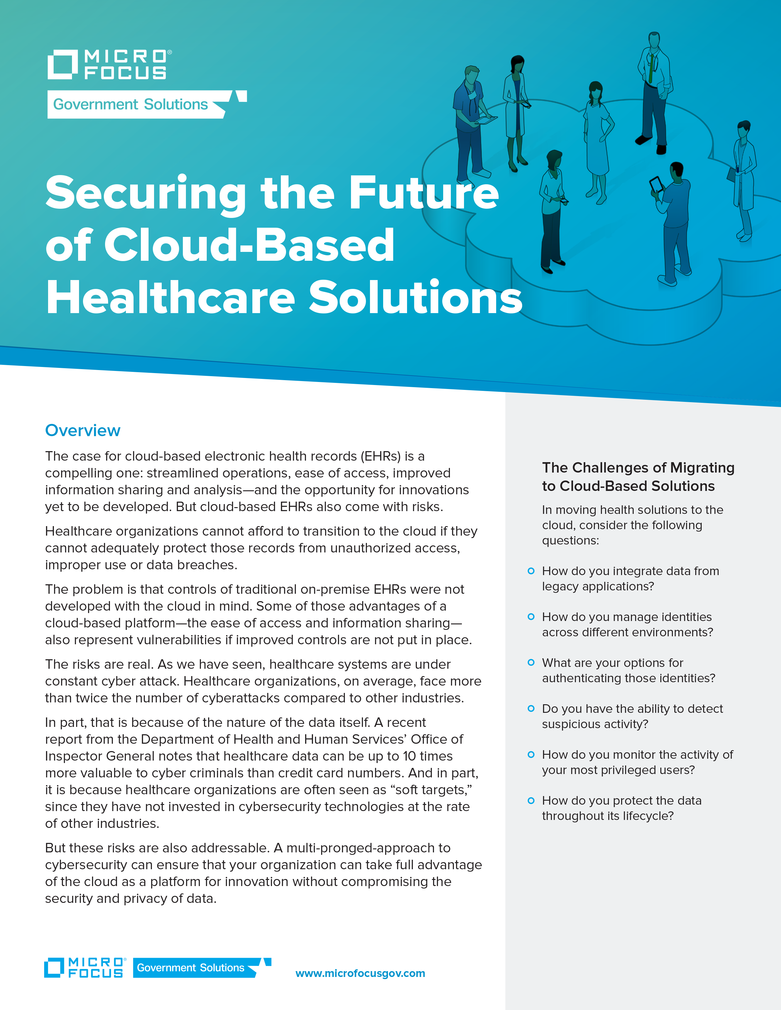 Securing the Future of Cloud Based Healthcare Solutions preview