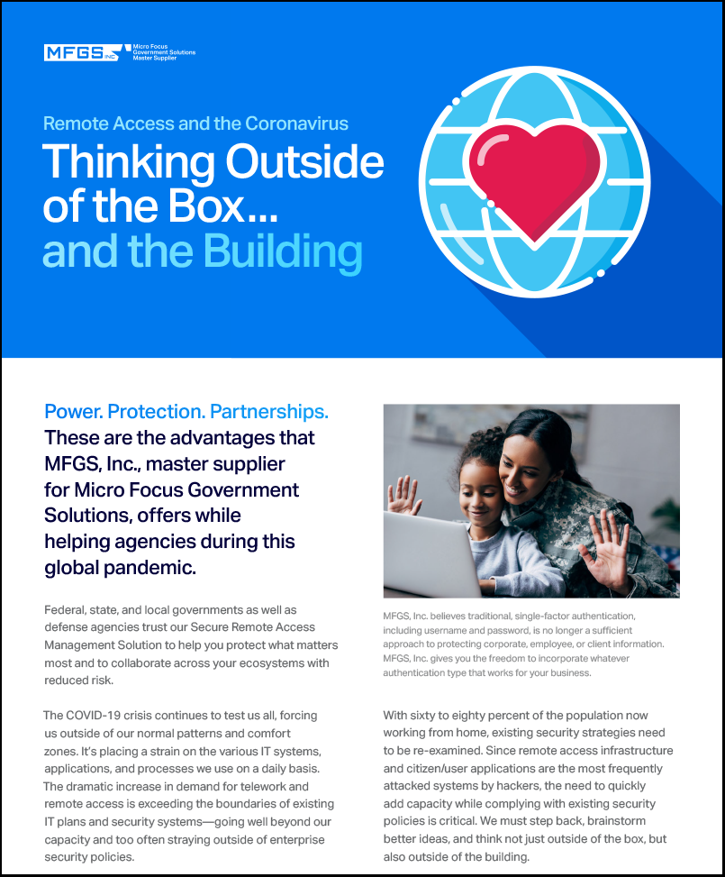 Remote Access to the Coronavirus – Thinking Outside the Box….and the Building preview