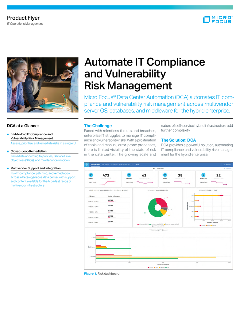 Automate IT Compliance and Vulnerability Risk Management