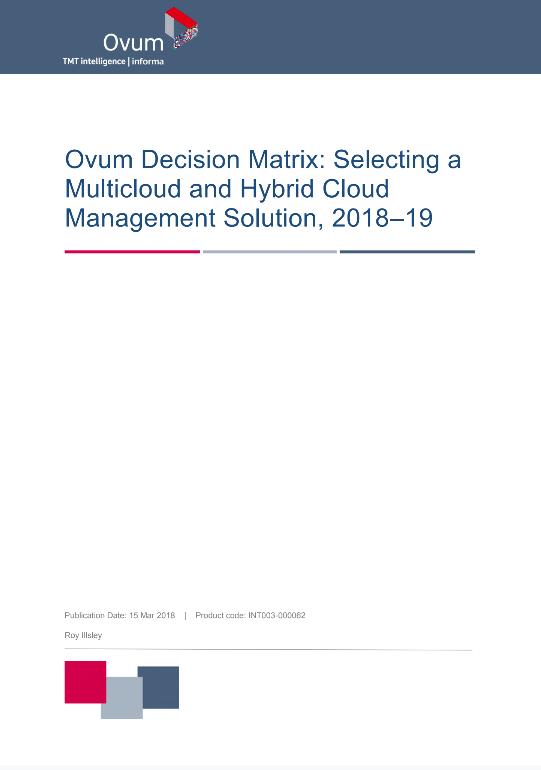 Ovum Names Micro Focus as a Market Leader preview
