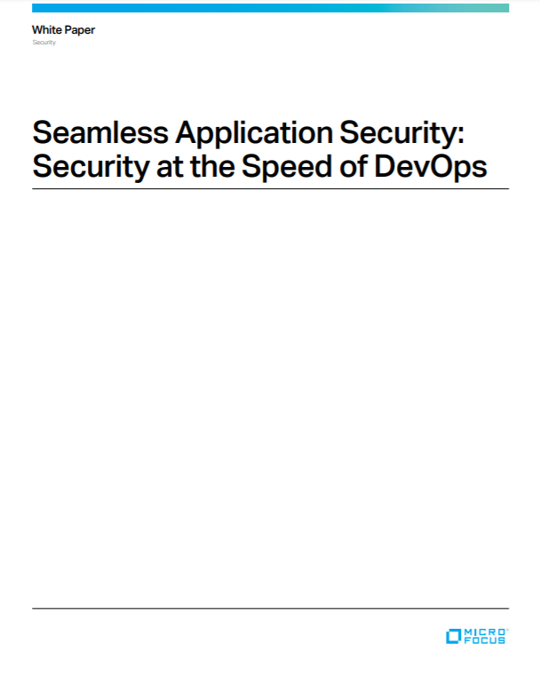 Seamless Application Security: Security at the Speed of DevOps preview