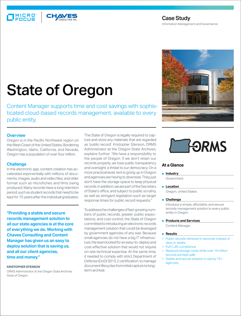 State of Oregon preview