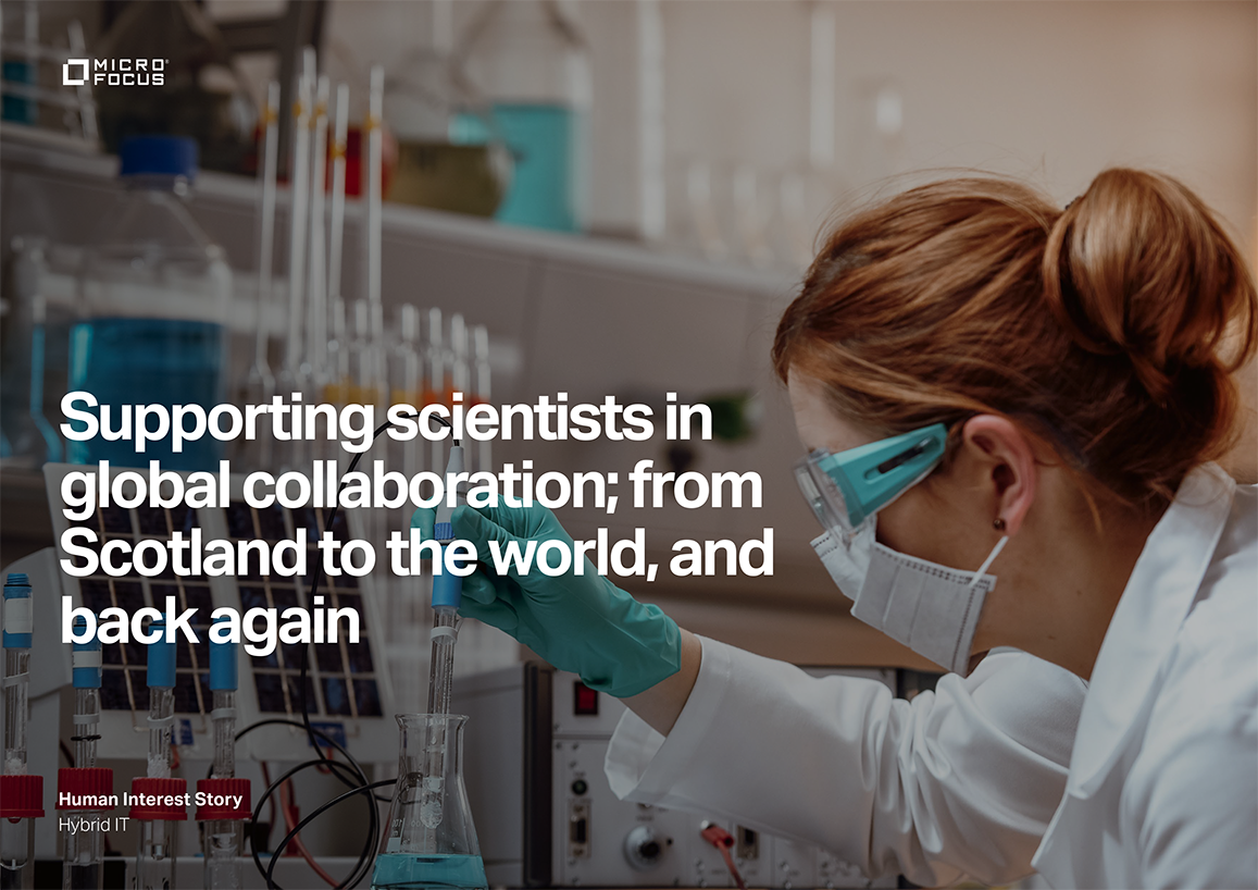 Supporting Scientists in Global Collaboration from Scotland to the World and Back Again preview